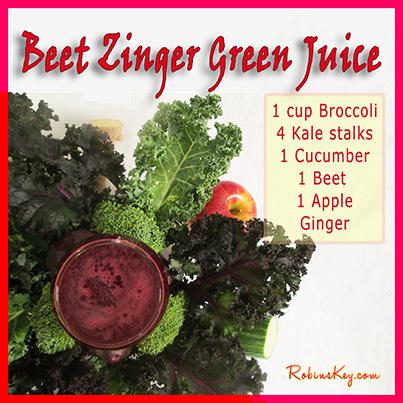 Beet Zinger Green Juice Recipe