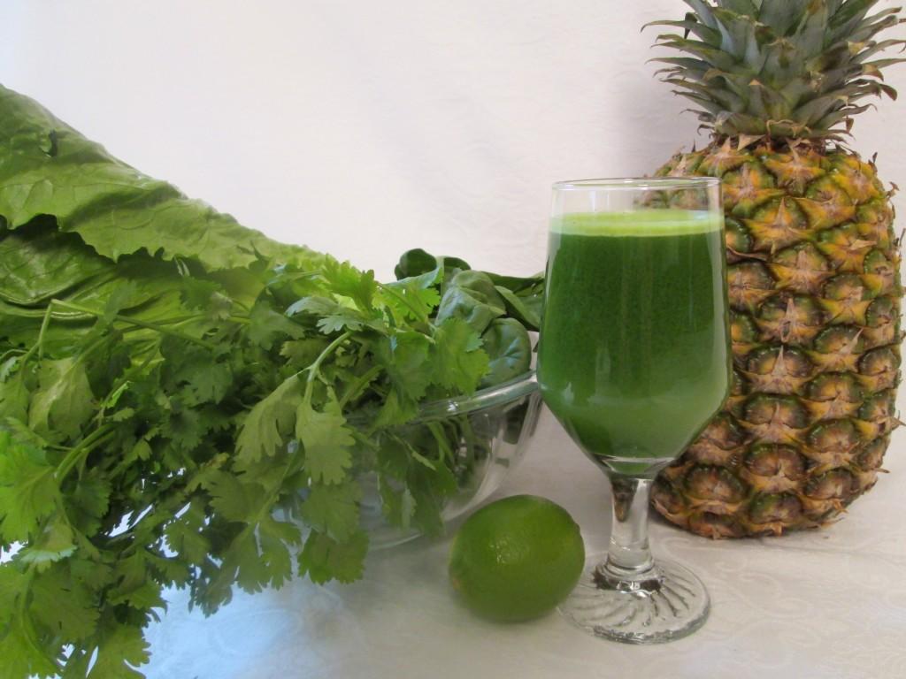 Thai Green Juice Recipe