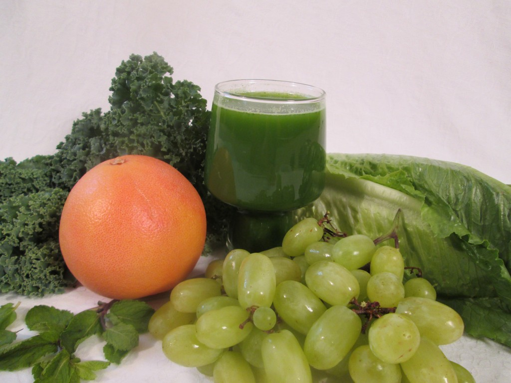 Great Grape Green Juice Recipe