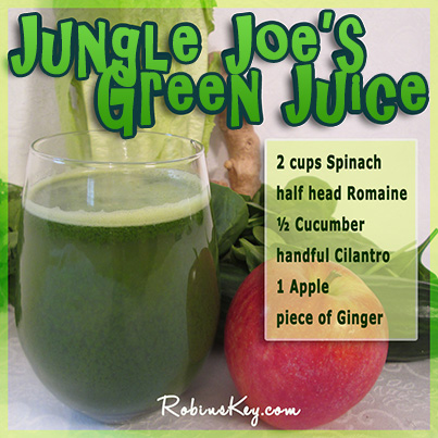Jungle Joe's Green Juice Recipe