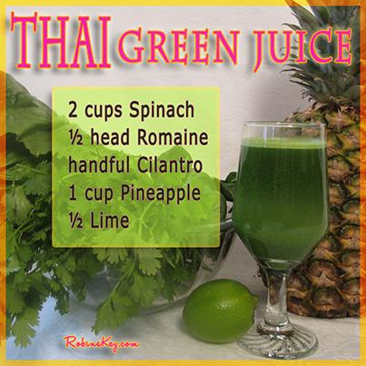 Thai Green Juice Recipe Recipe