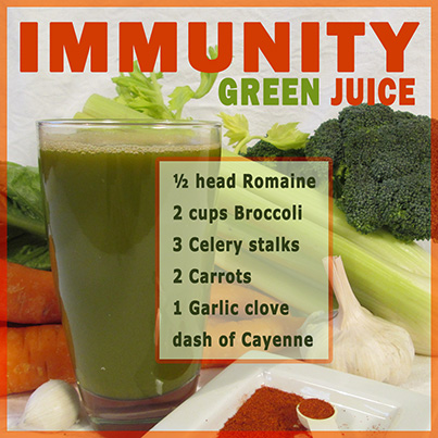 Immunity Green Juice Recipe