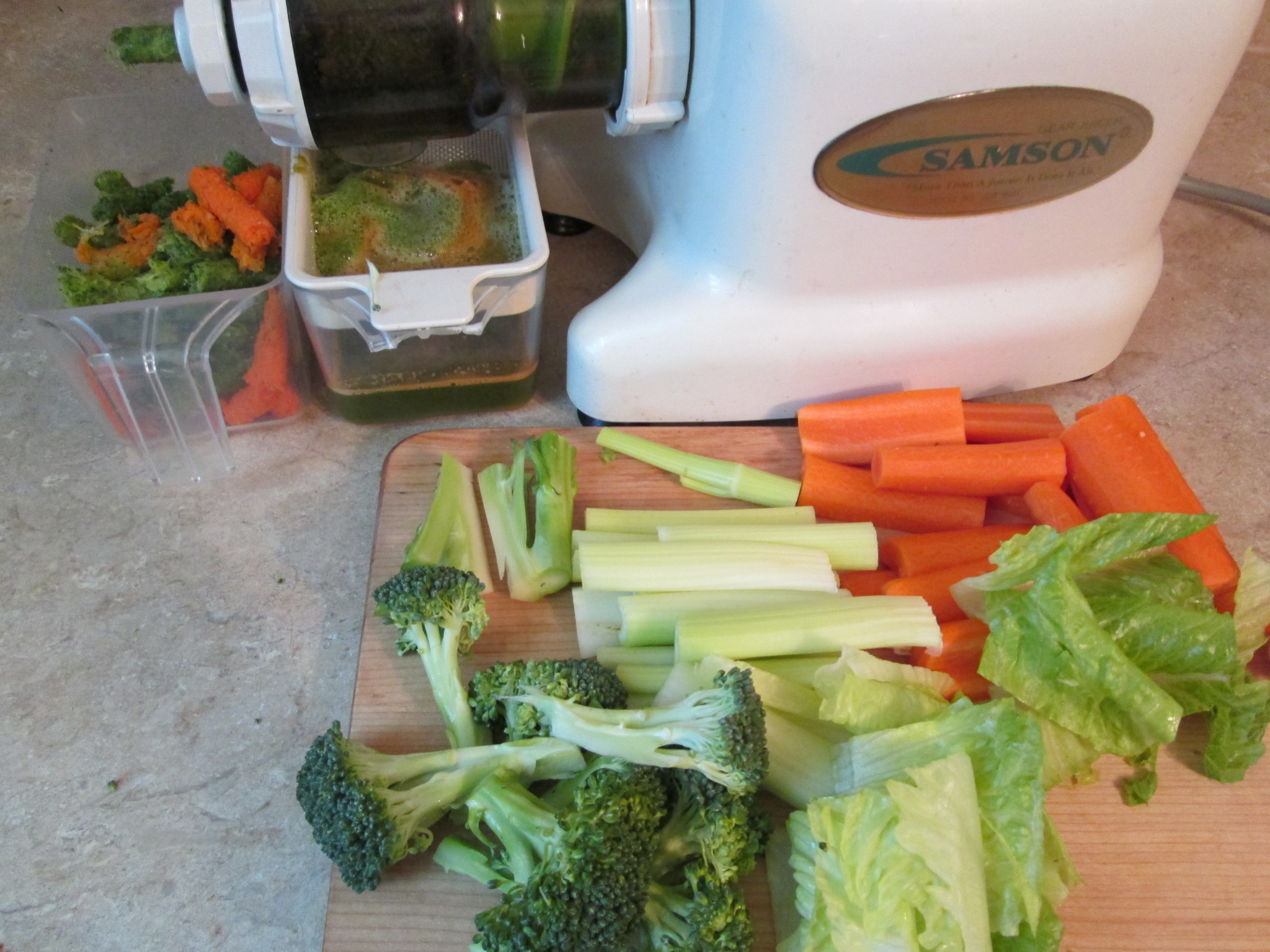 Immunity Green Juice Recipe - juicing