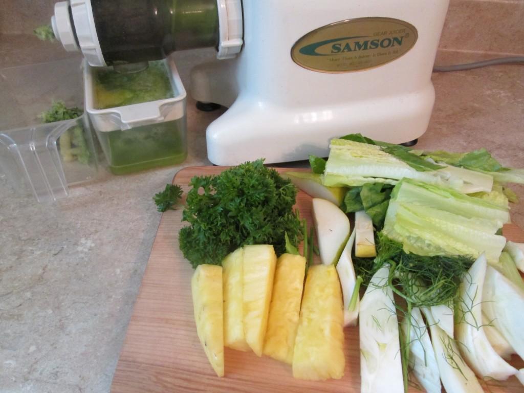 Wild Thing Green Juice Recipe - juicing