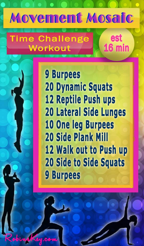 Movement Mosaic Bodyweight Workout