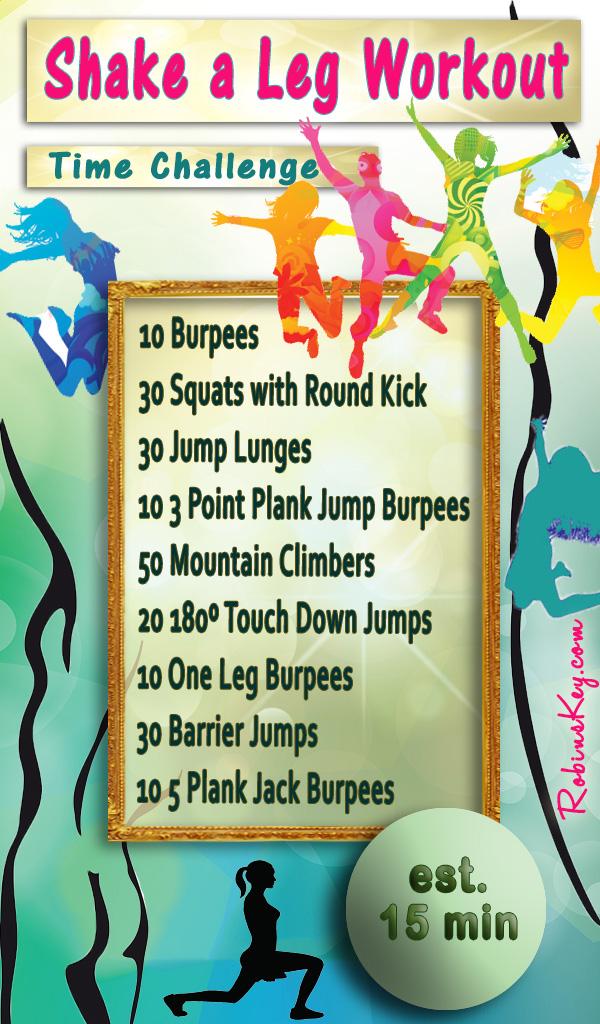 Shake a Leg Workout