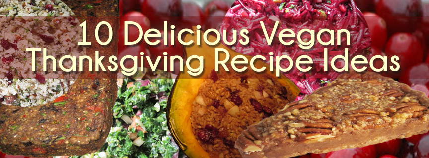 10 Delicious Vegan Thanksgiving Recipe Ideas