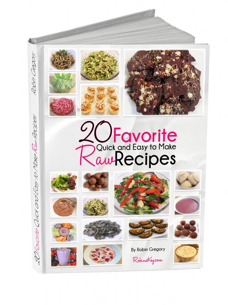20 Favorite Raw Recipes book