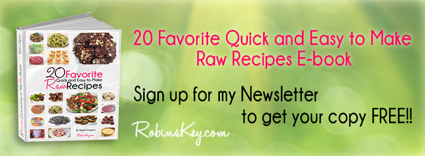 20 Favorite Quick and Easy to Make Raw Recipes eBook