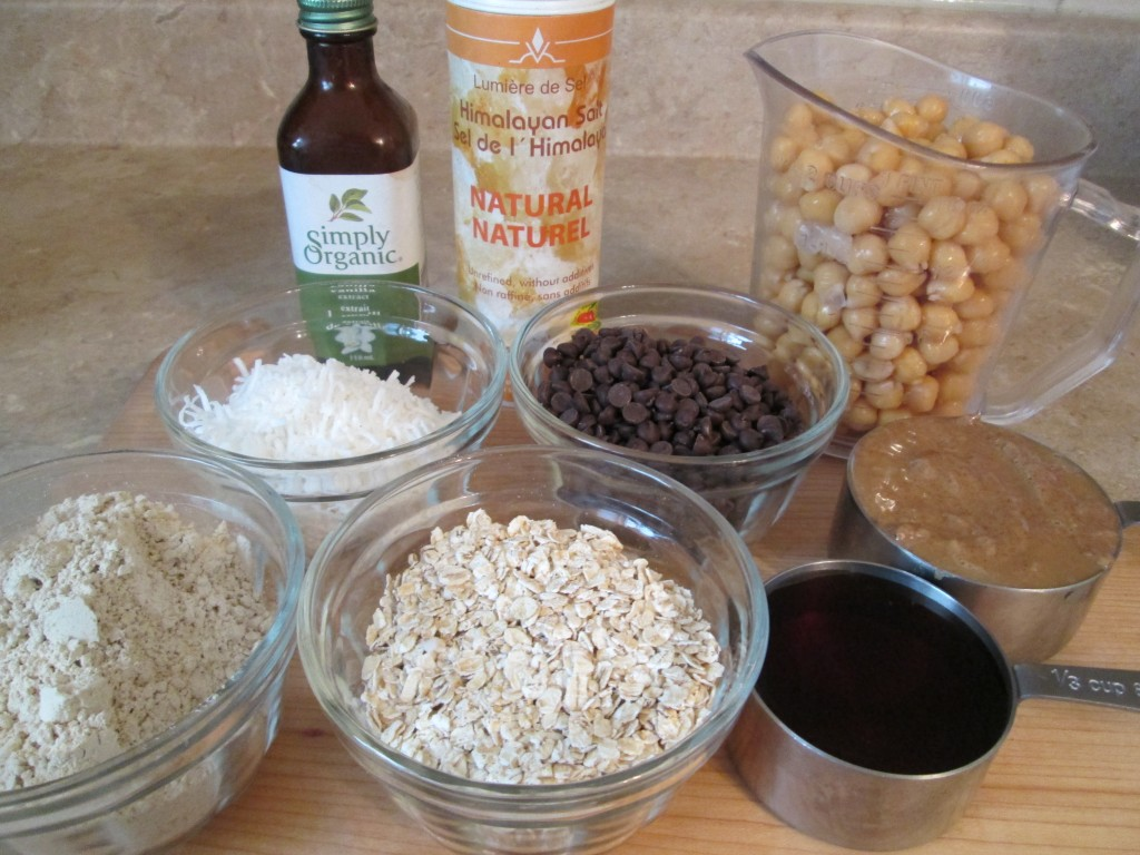 Chickpea Protein Energy Balls - ingredients