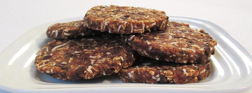 Oatmeal, Coconut Date Cookies Recipe