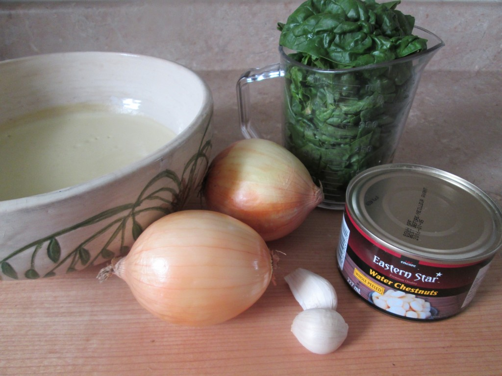 Raw Spinach Dip Recipe - 1 ingredients