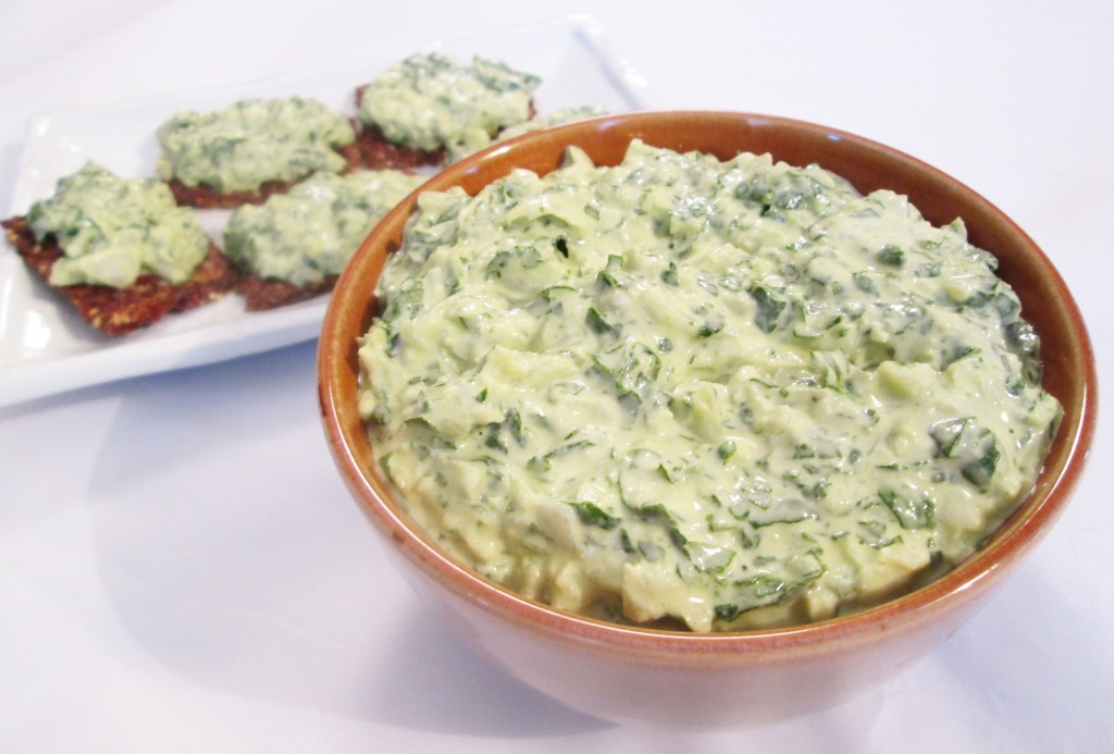 Raw Spinach Dip Recipe