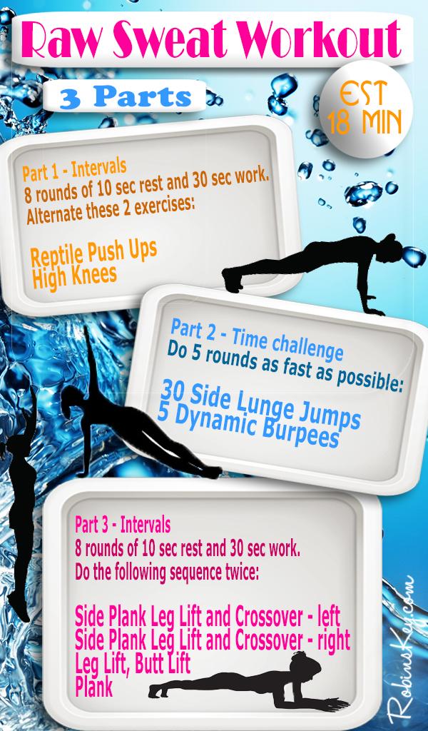 Raw Sweat Workout