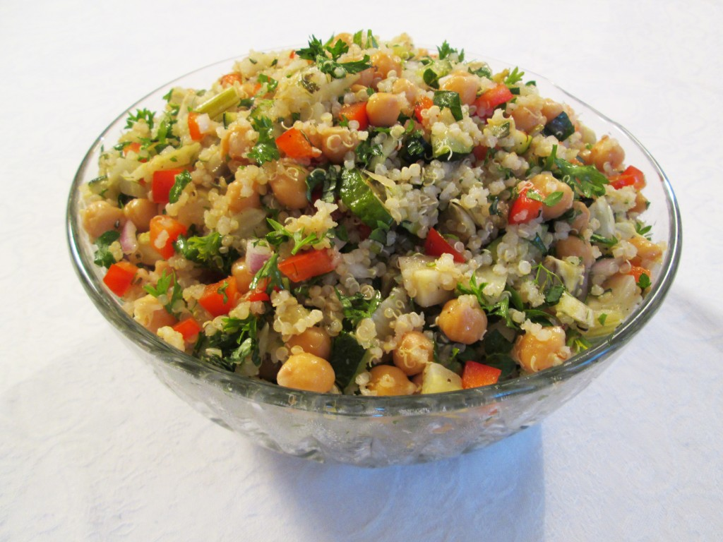 Chickpea Quinoa Salad ... Quinoa Chickpea Salad Recipes