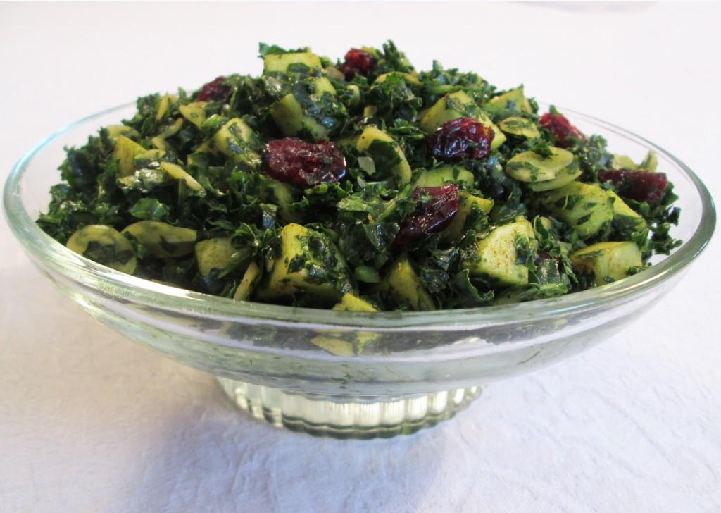 Smoked Apple and Kale Salad Recipe