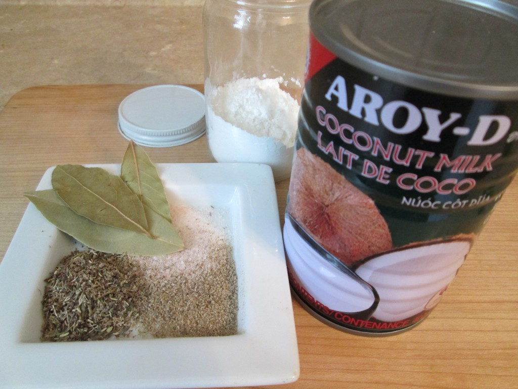 Vegan Cream of Mushroom Soup Recipe - 2 seasonings and thickener