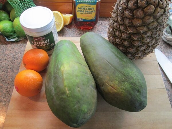 Raw Papaya Pie Recipe - 1 ingredients