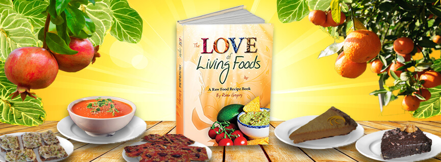 The Love of Living Foods Raw Food Recipe Book