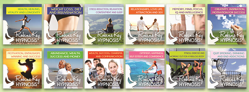 Robins Key Hypnosis cd's