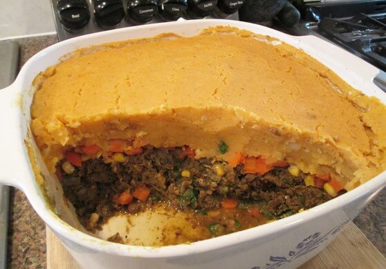 Vegan Mushroom and Lentil Shepherd's Pie - 21.1 finished rs