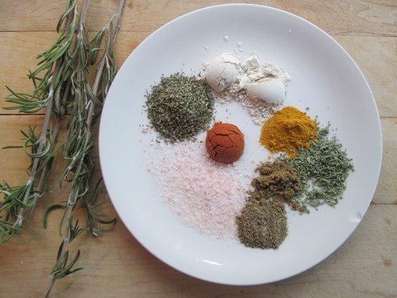 Vegan Mushroom and Lentil Shepherd's Pie - bottom 8 assemble spices