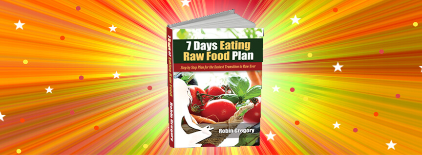 7 days easting raw foods plan book
