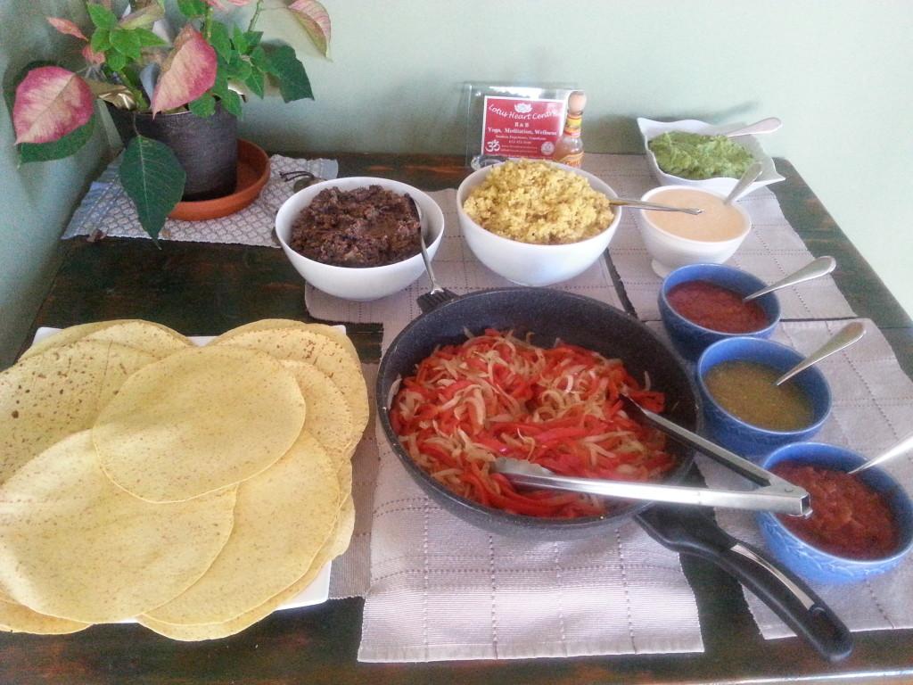 Vegetarian Fajitas Recipes